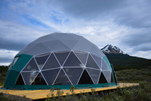 NEW DINING DOME IN TIERRA DEL FUEGO NATIONAL PARK